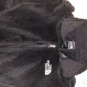 North Face Fuzzy Jacket